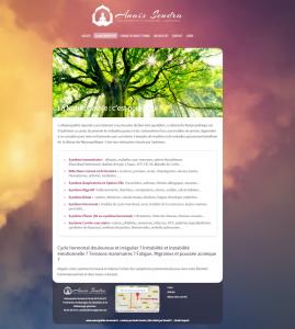 Site internet : Naturopathie Harmonie