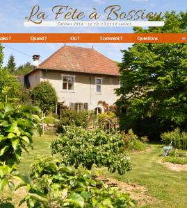 Site officiel de la Fête à Bossieu