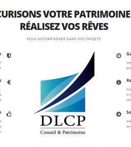 Identité Visuelle : Cabinet de conseil patrimonial DLCP