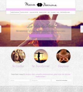 Site internet Maeva Poornima