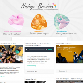 Site internet Nadège Bredoux