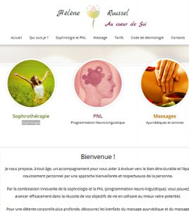 Site internet thérapeuthe : PNL et Sophrologie
