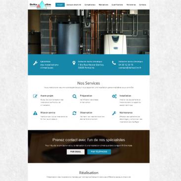 Site internet : Deltaclim