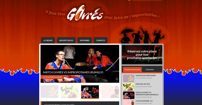 Site réalisé par BenoitP pour l'association les givrés